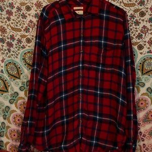 American Eagle Ahhmazingly Soft Button up flannel